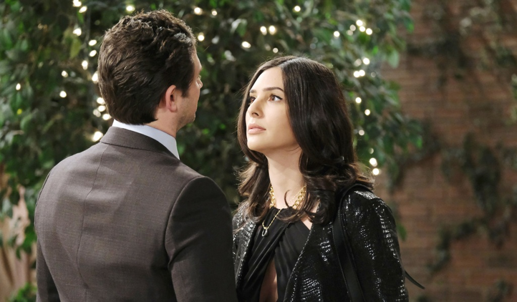 Gabi and Jake's attraction on DAYS