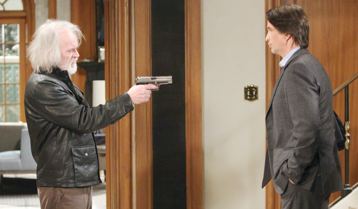 "Anders Hove, Michael Easton ""General Hospital"" faison finn hw"