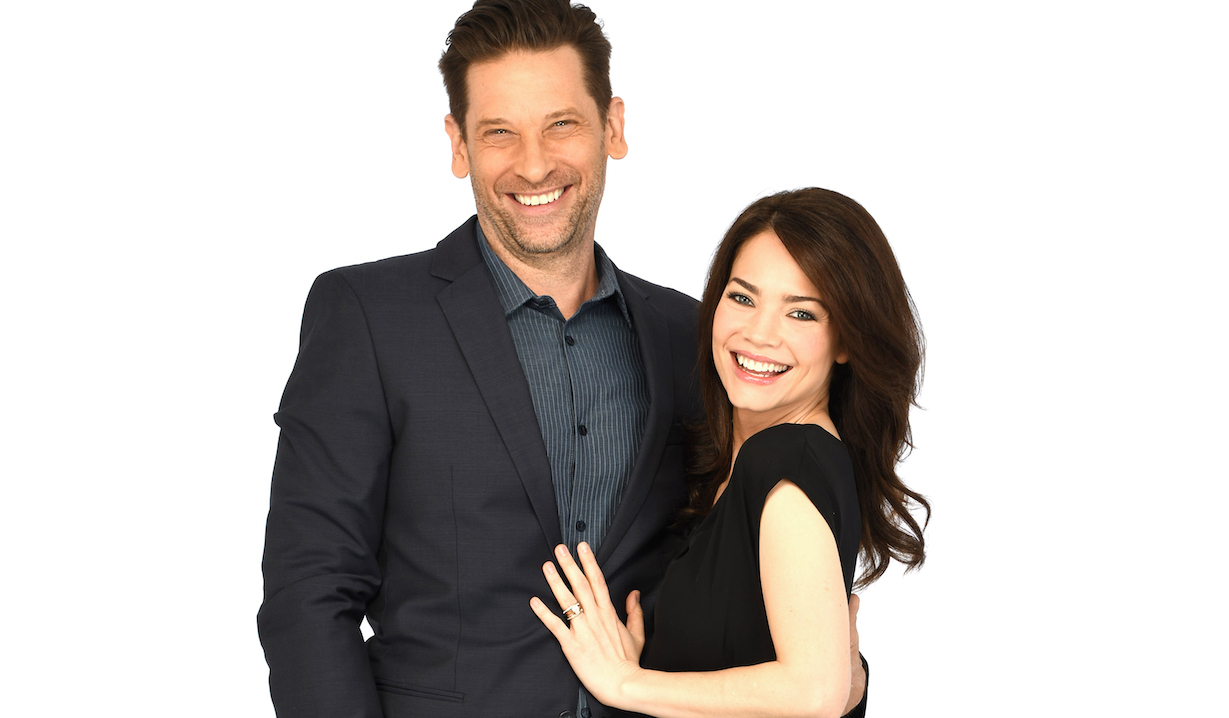 """franco liz GENERAL HOSPITAL - The Emmy-winning daytime drama """"General Hospital"""" airs Monday-Friday (3:00 p.m. - 4:00 p.m., ET) on the ABC Television Network. GH19(ABC/Todd Wawrychuk)ROGER HOWARTH, REBECCA HERBST"""