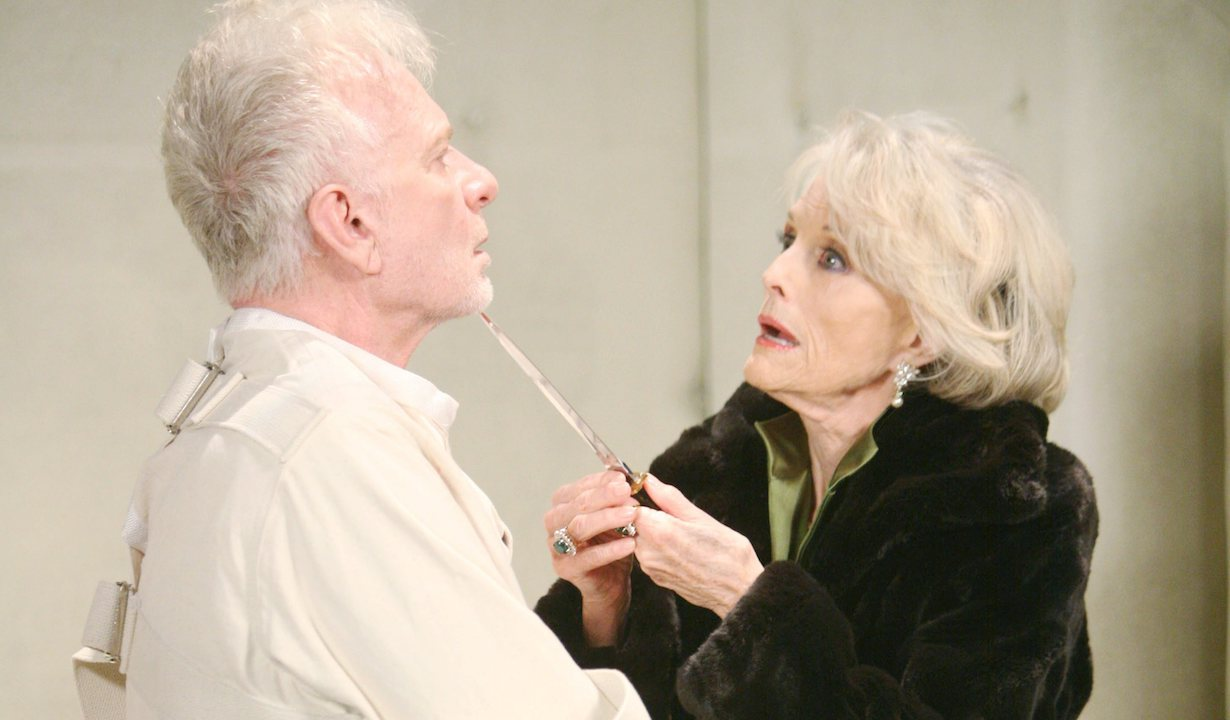 "Tony Geary, Constance Towers ""General Hospital"" hw helena luke"