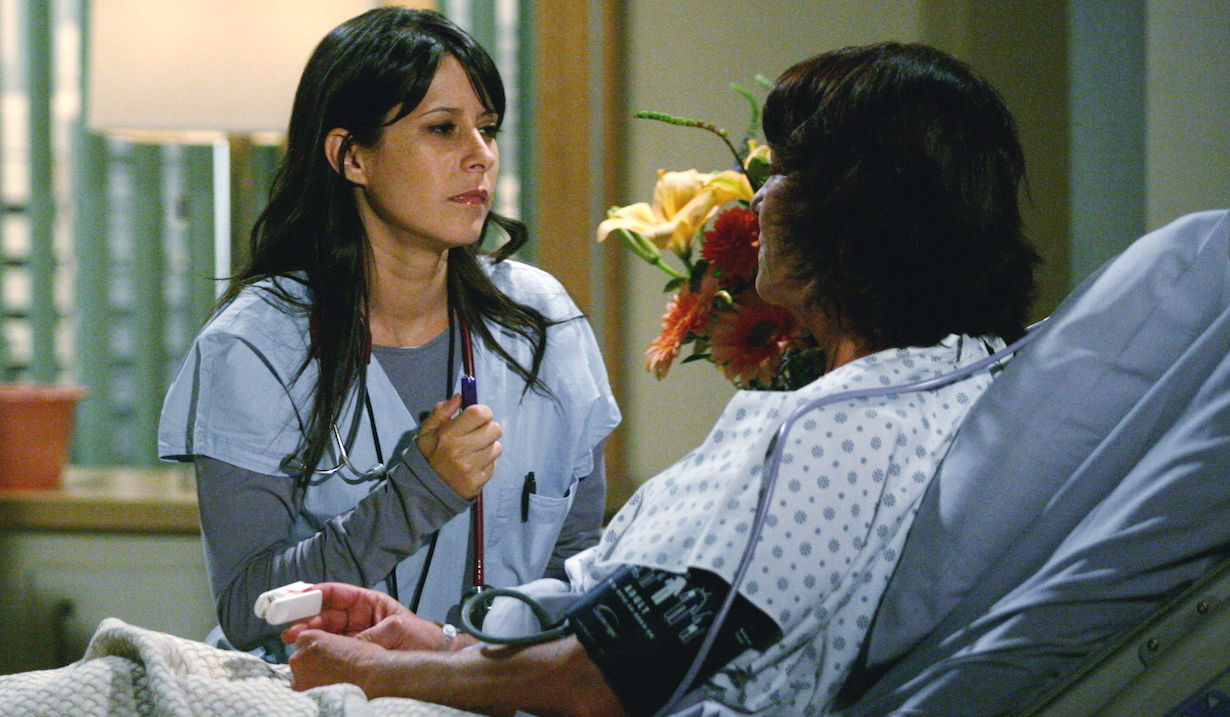 "Kimberly McCullough ""General Hospital"" Set The Prospect Studios ABC Studios Los Angeles 9/23/10 ©Howard Wise/jpistudios.com 310-657-9661 Episode # 12167 U.S.Airdate 10/20/10"