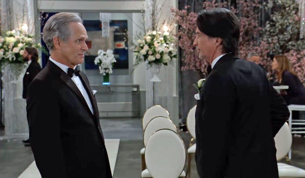 Finn and Greg talk wedding on GH ABC