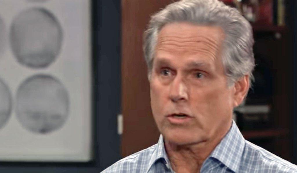 Gregory upset with Finn's lie GH