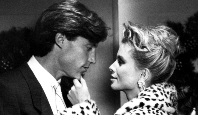 KNOTS LANDING, Hunt Block, Nicollette Sheridan, 'Gifts', (Season 8, aired December 11, 1986), 1979-93, © Lorimar Television / Courtesy: Everett Collection