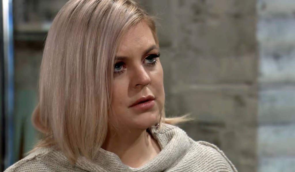 Maxie faces off with Peter on GH