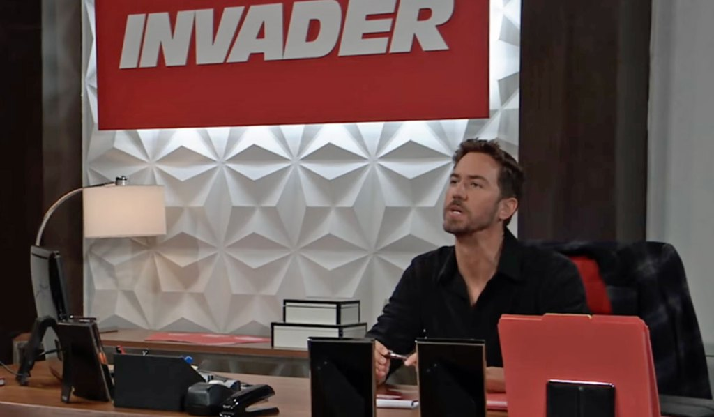 Peter confronted at Invader GH