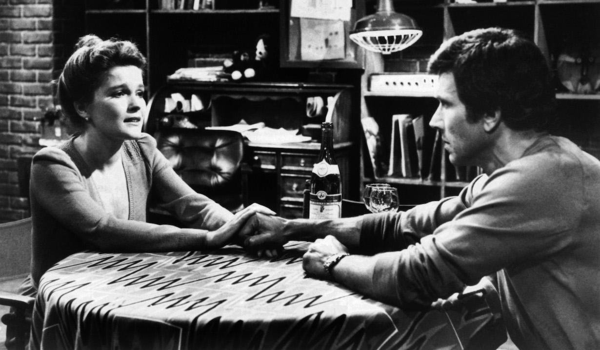 RYAN'S HOPE, from left: Kate Mulgrew, Michael Levin, 1975-89.