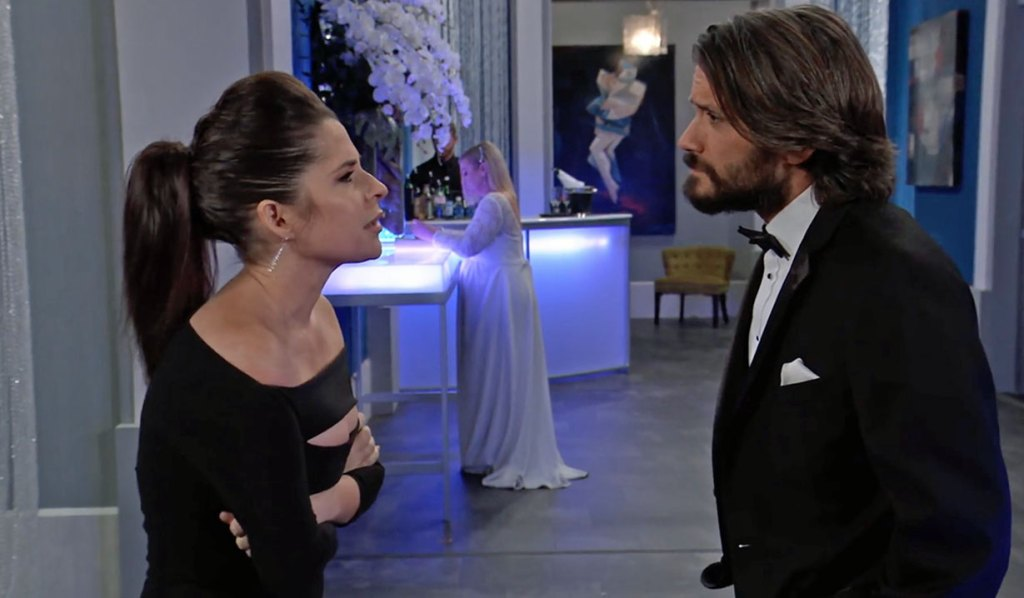 Sam and Dante discuss Peter on GH ABC