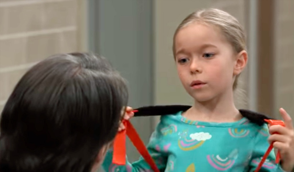Violet begs Finn not to go on GH