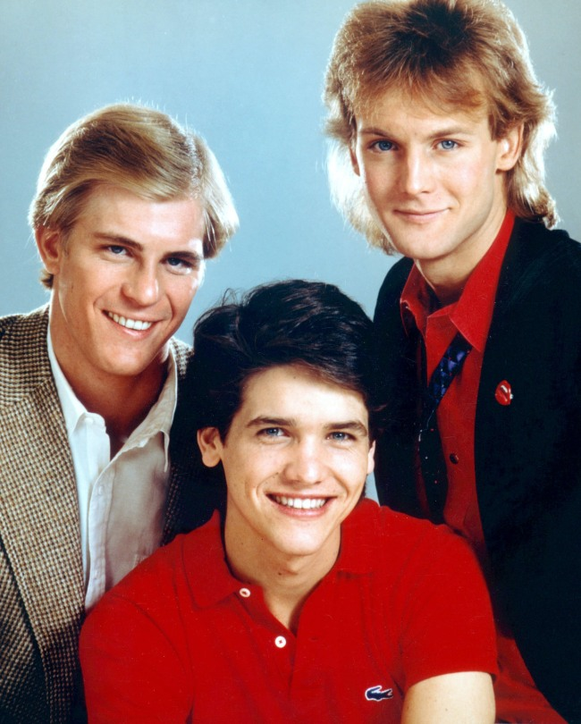 YOUNG AND THE RESTLESS, Steven Ford, Michael Damian, Doug Davidson, 1980s. 1973 - . (c)CBS/ Courtesy: Everett Collection.