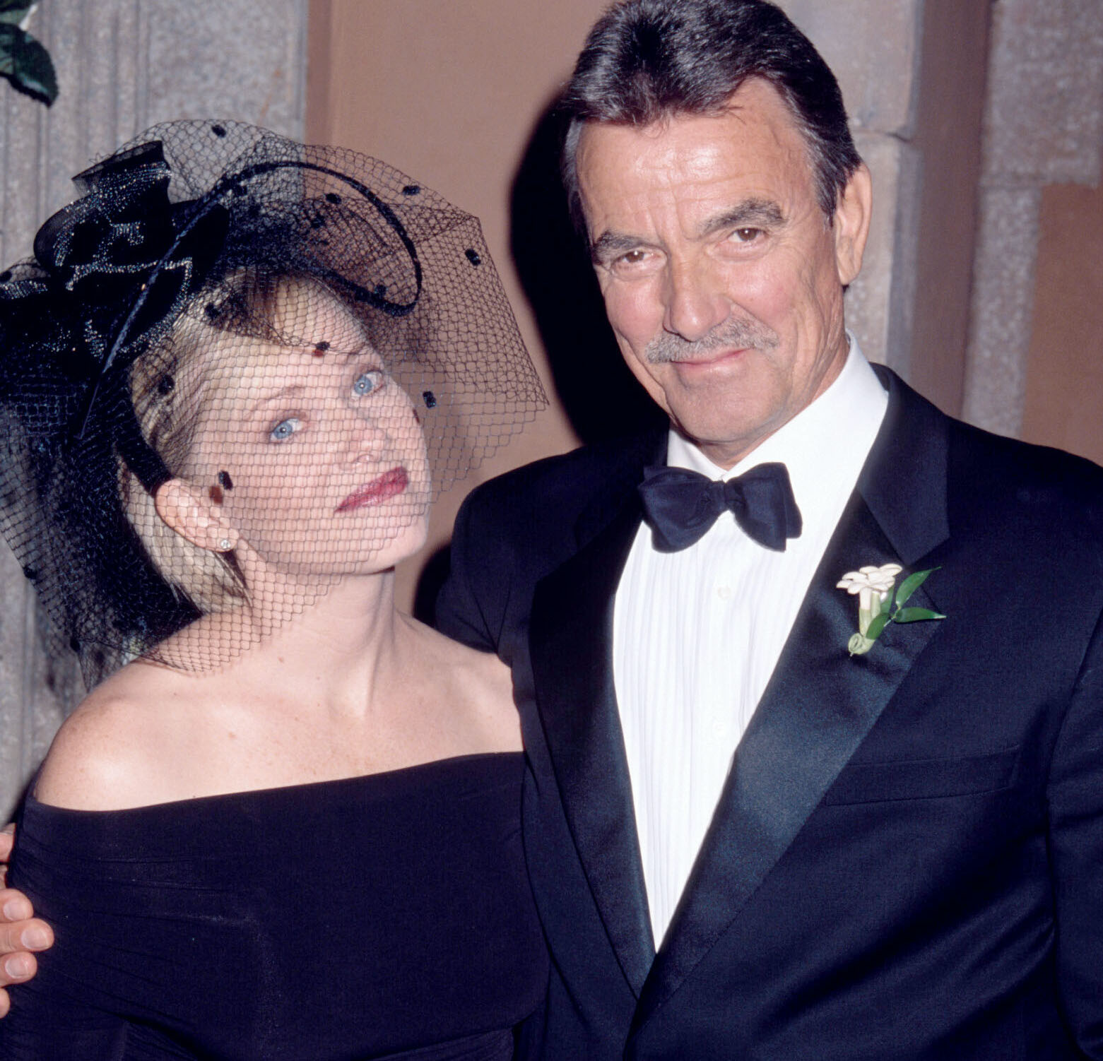 yr leanna victor am Eric Braeden and Barbara CramptonYoung and Restless setCBS Television City8/2/02© Aaron Montgomery/JPI310-657-9661
