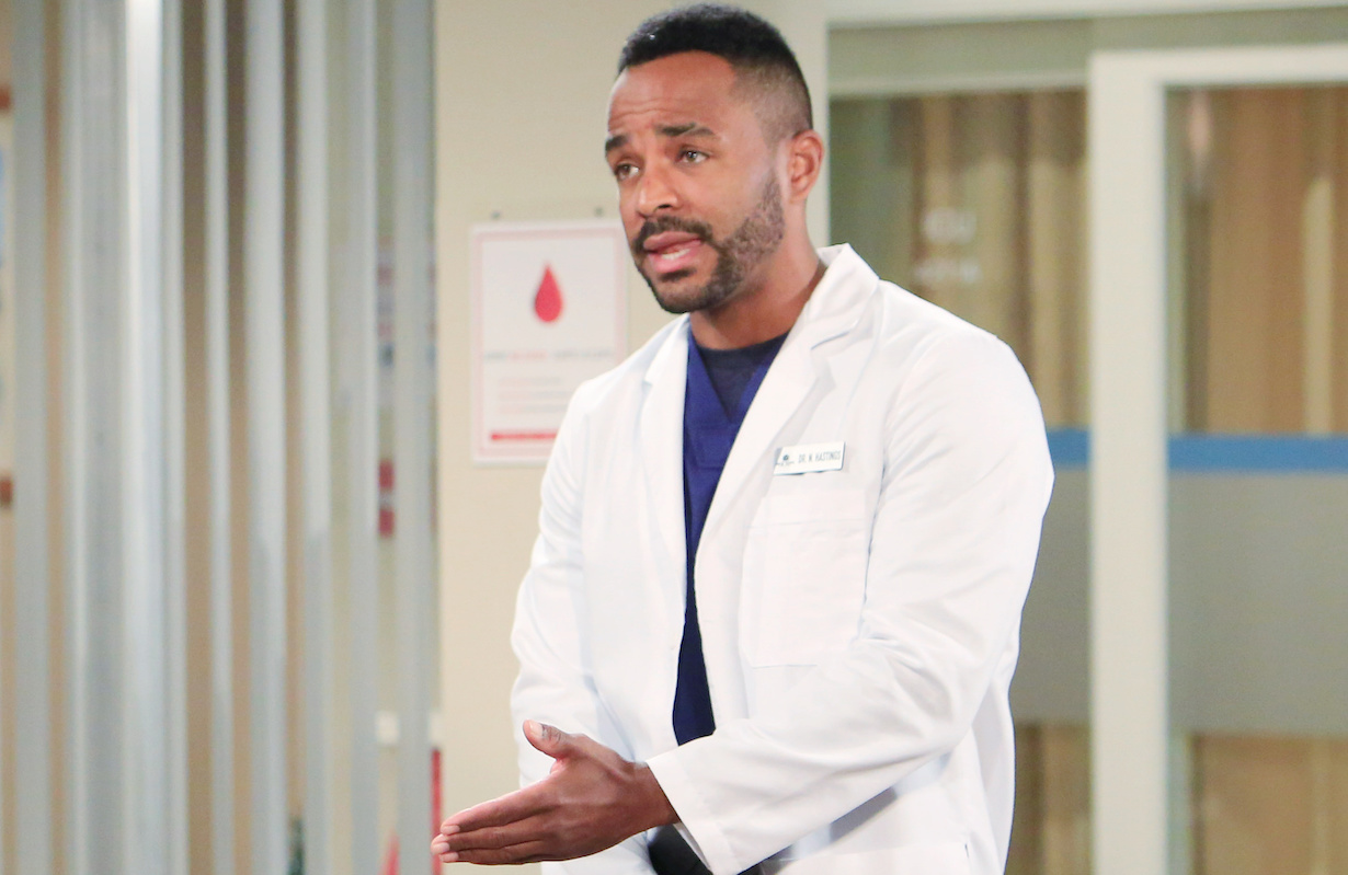 """nate Sean Dominic """"The Young and the Restless"""" Set CBS television City Los Angeles 12/2/20 © Howard Wise/jpistudios.com 310-657-9661 Episode # 12024 U.S. Airdate 1/06/21"""