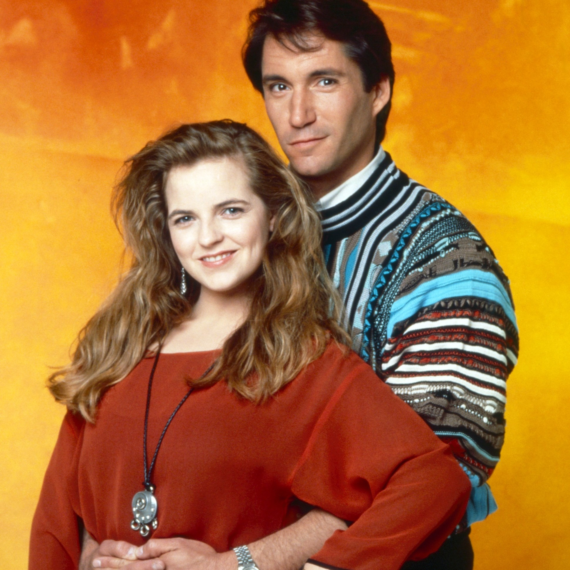 THE YOUNG AND THE RESTLESS, from left: Tricia Cast, Michael Corbett david nina cbs ec