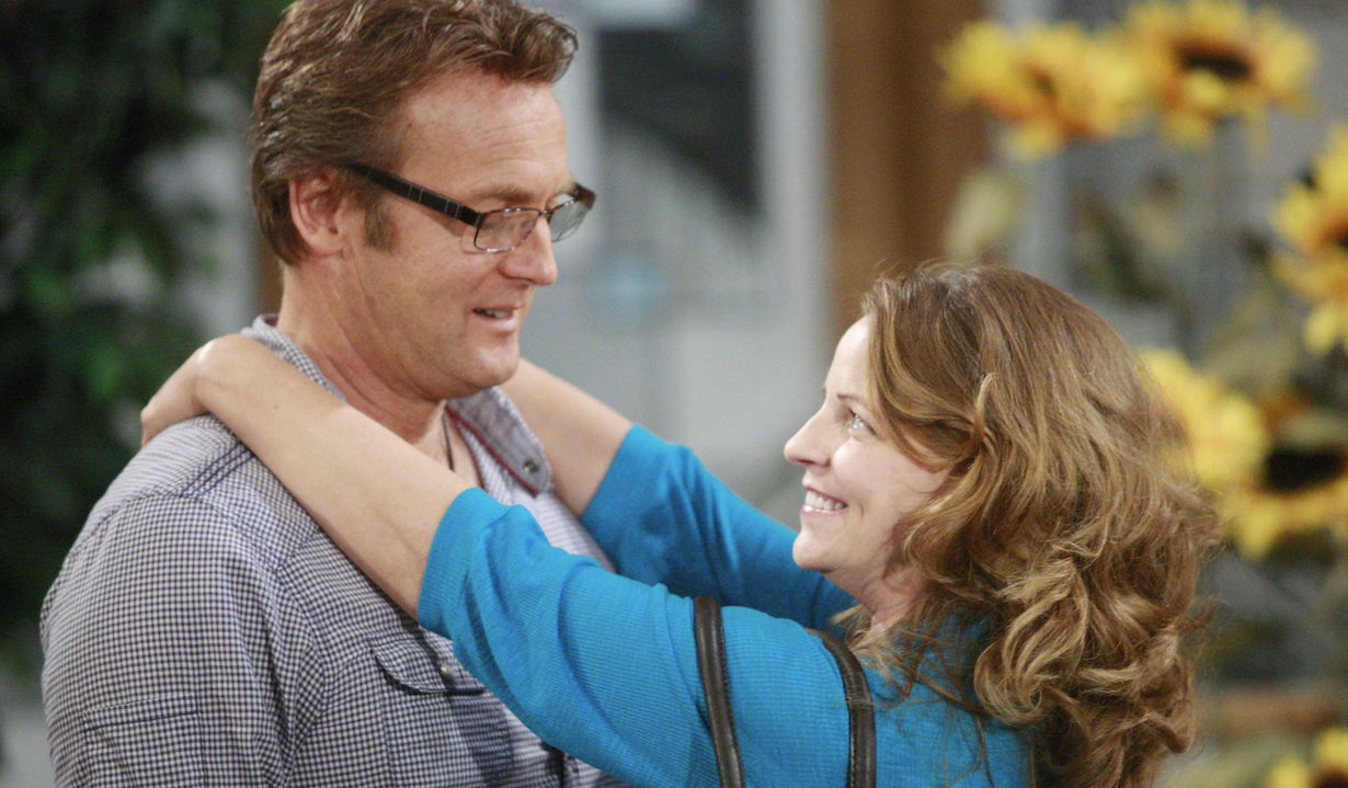 "Doug Davidson, Tricia Cast ""The Young and the Restless"" Set CBS television City Los Angeles 6/11/10 ©sean smith/jpistudios.com 310-657-9661 Episode # 9442 U.S. Airdate 7/15/10"
