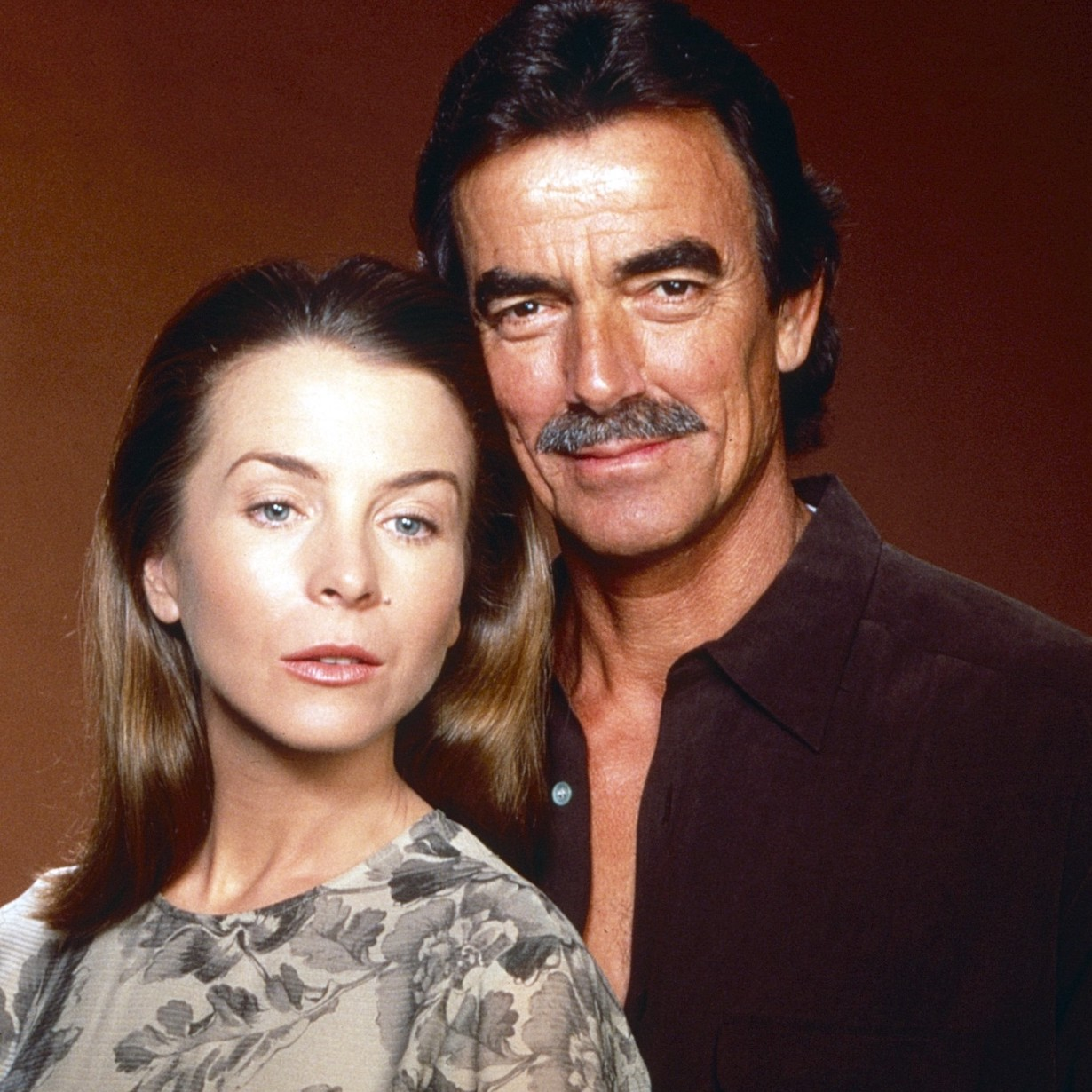 THE YOUNG AND THE RESTLESS, from left: Signy Coleman, Eric Braeden YR hope victor