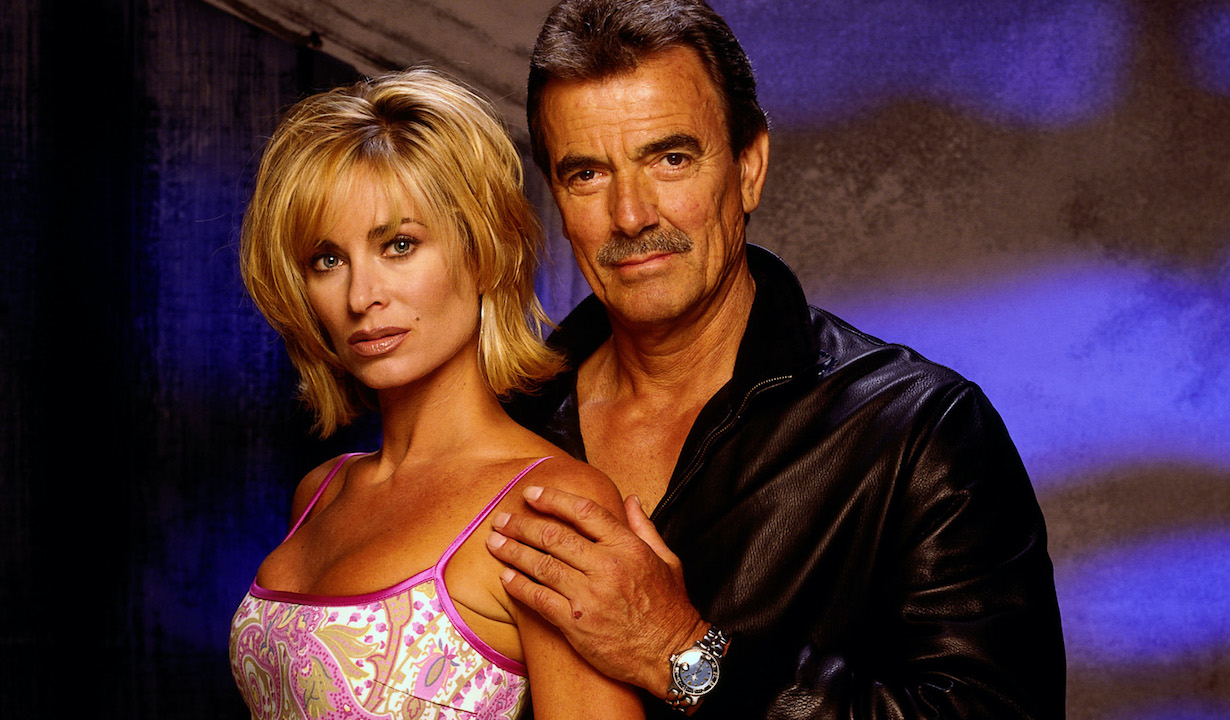 ashley victor THE YOUNG AND THE RESTLESS, Eileen Davidson and Eric Braeden. 1973-present.