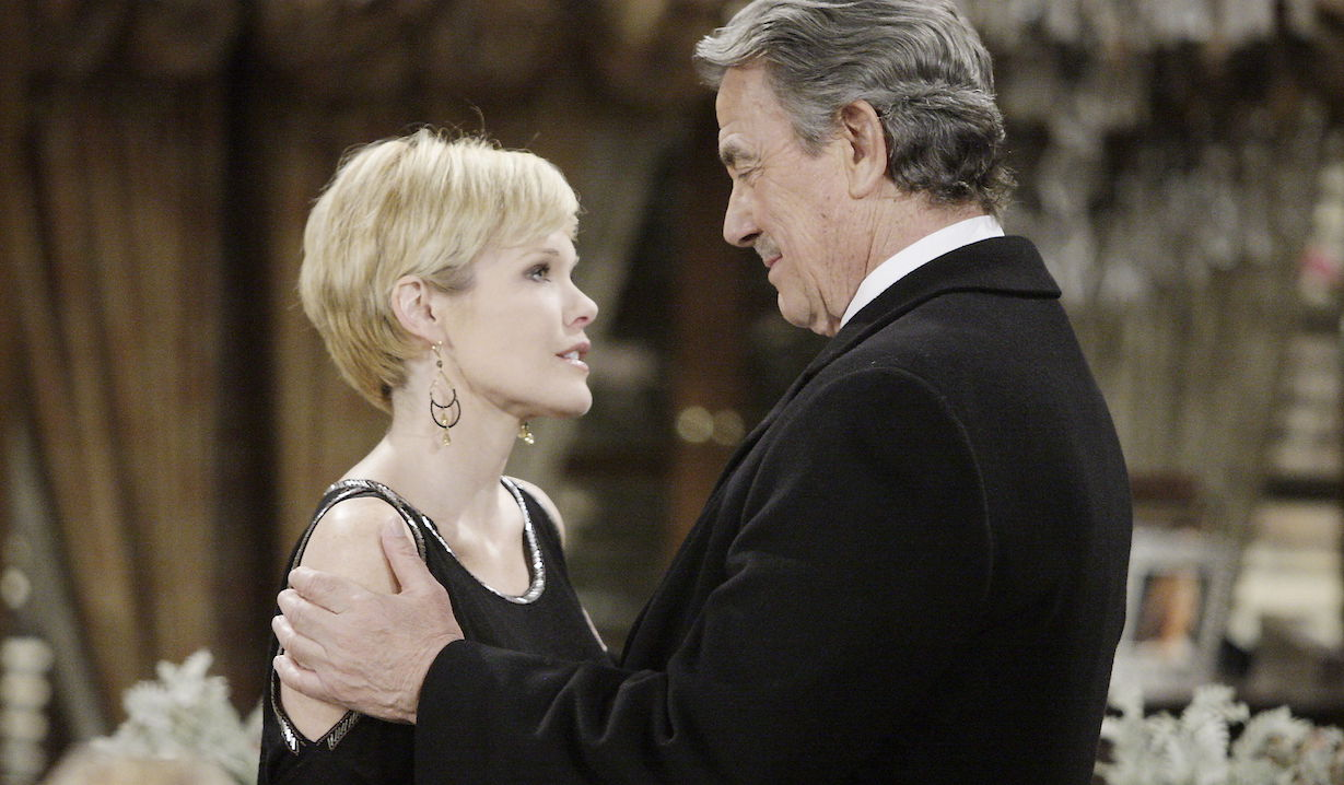 """Maura West, Eric Braeden """"The Young and the Restless"""" diane victor"""