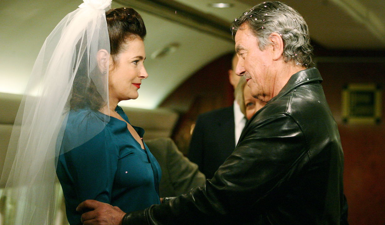 """Sean Young, Eric Braeden """"The Young and the Restless"""" meggie victor am"""