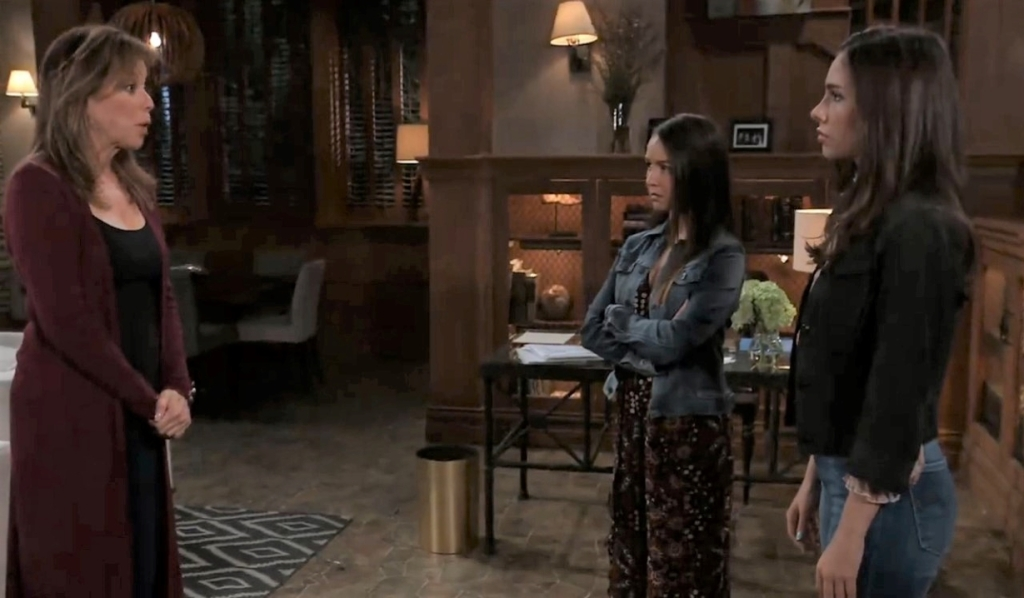 Alexis requests Molly and Kristina move in at her house General Hospital