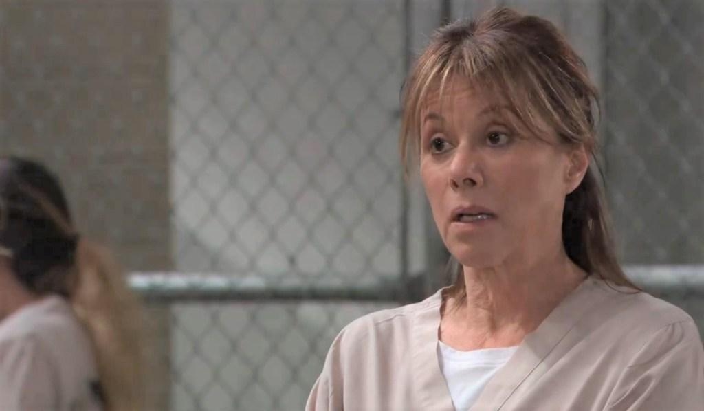 Alexis tours prison General Hospital