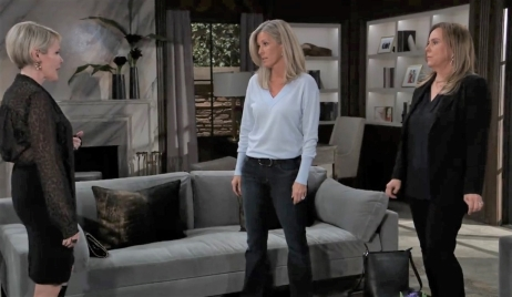 Ava offers Laura and Carly help at Corinthos compound General Hospital