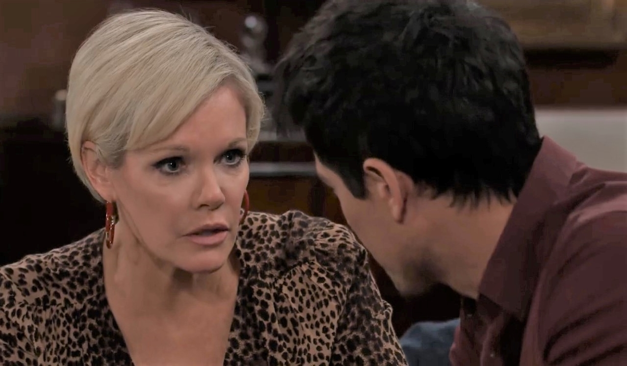 Ava tells Nikolas she thinks he's making a mistake a Wyndemere General Hospital