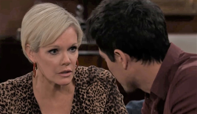 Ava tells Nikolas she thinks he's making a mistake a Wyndemere General Hospital