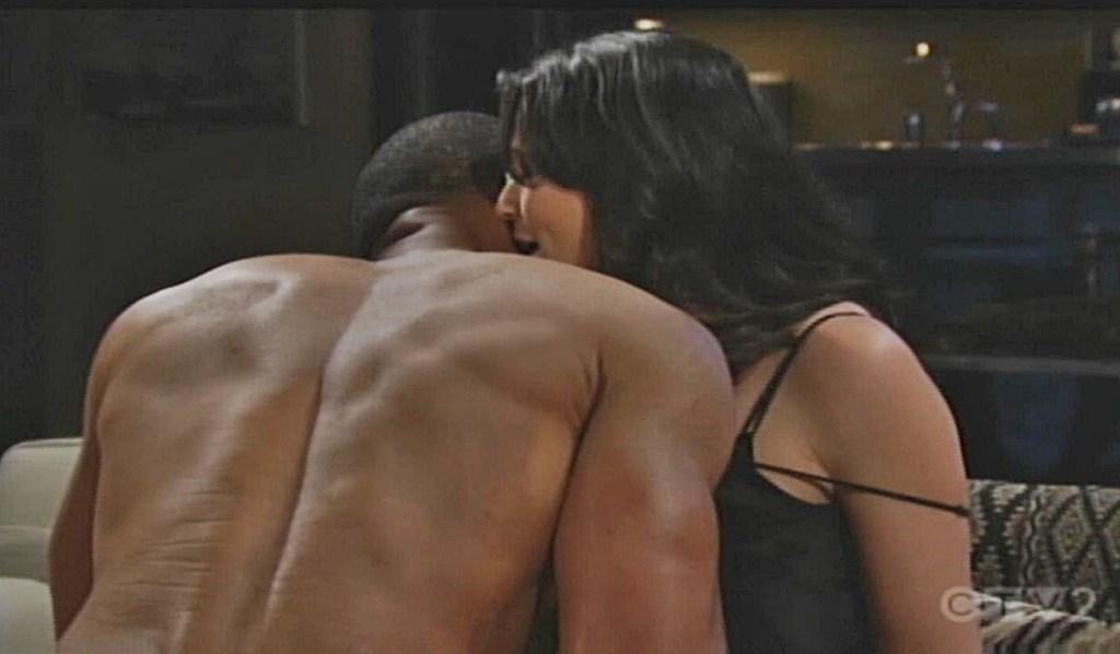 Carter, Quinn make love B&B