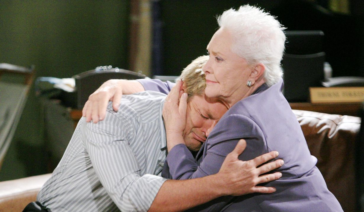 """Susan Flannery, Winsor Harmon """"The Bold and the Beautiful"""" Set CBS Television City Los Angeles 09/12/12 ©Howard Wise/jpistudios.com 310-657-9661 Episode # 6433 U.S.Airdate 10/22/12"""