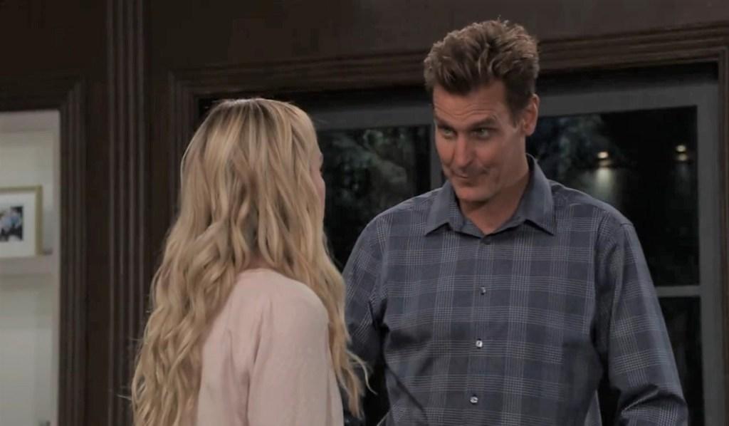 Joss and Jax discuss Cam at home General Hospital