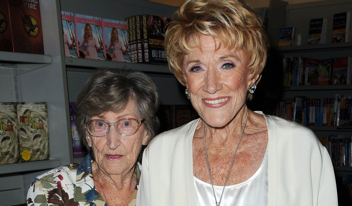 jeanne cooper and her sister yr