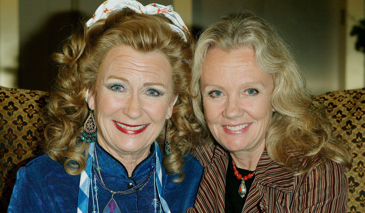 juliet mills and her sister passions