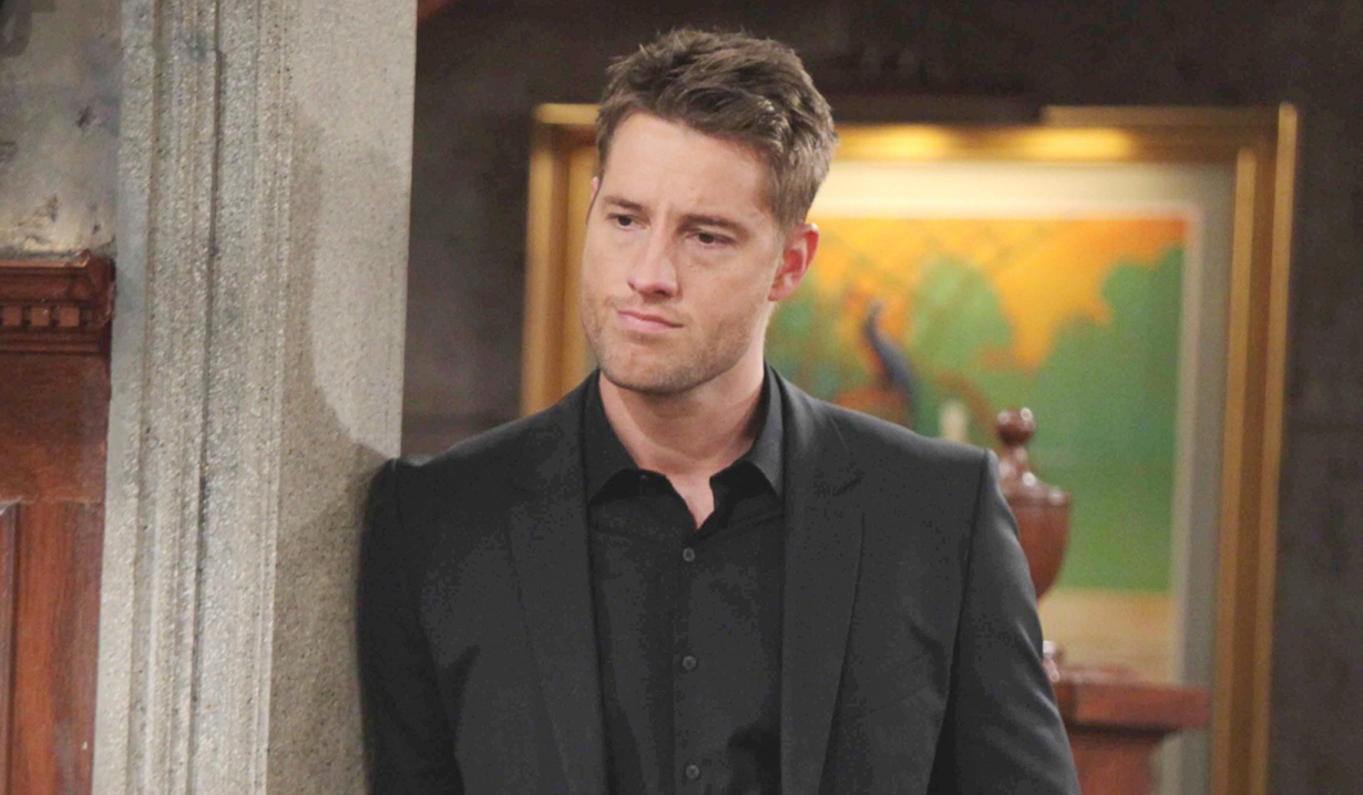 Justin Hartley as Adam Newman Young and Restless