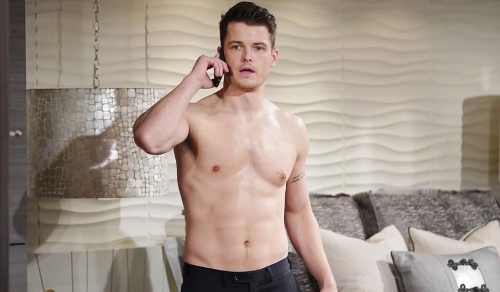 Kyle answers Tara's call Y&R