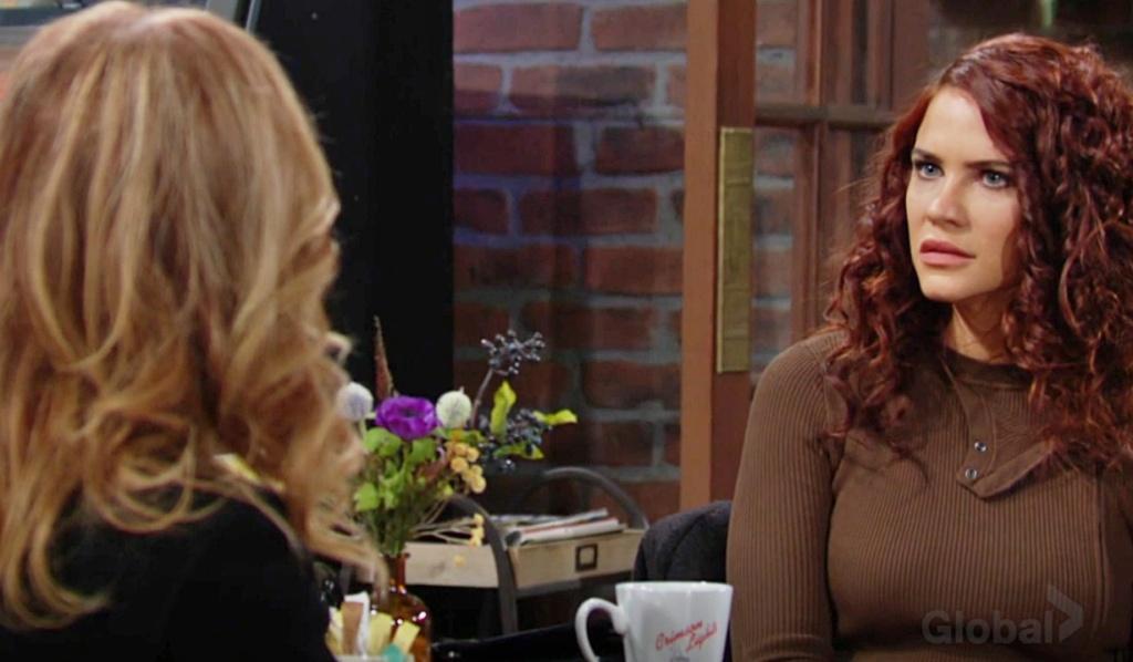 Lauren confronts Sally Y&R