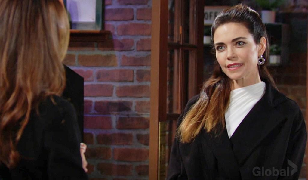 Lily, Victoria face off Y&R