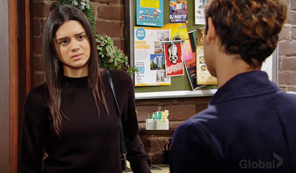 Lola talks with Elena about Nate Y&R