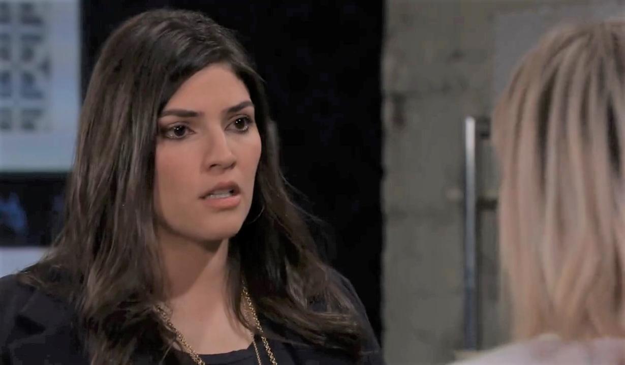 Brook Lynn tells Maxie she's not pregnant General Hospital