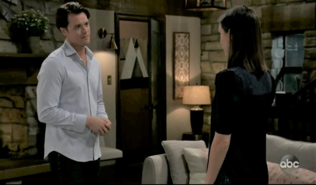 Michael and Willow confess their feelings in guesthouse General Hospital