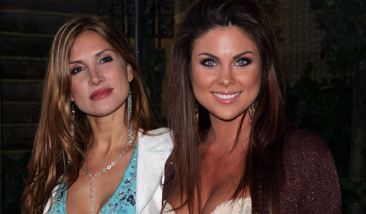nadia bjorlin and her sister days