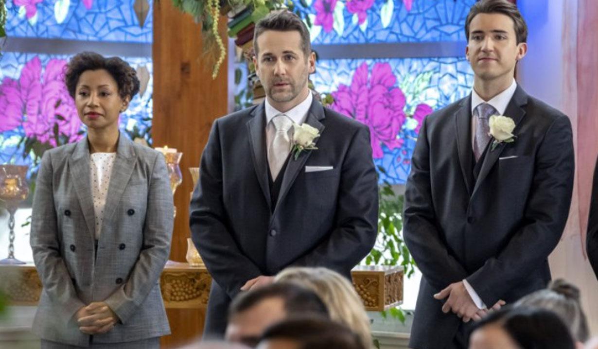 Nick and Phillip wedding, Aurora Teagarden Mysteries: Til Death Do Us Part Hallmark