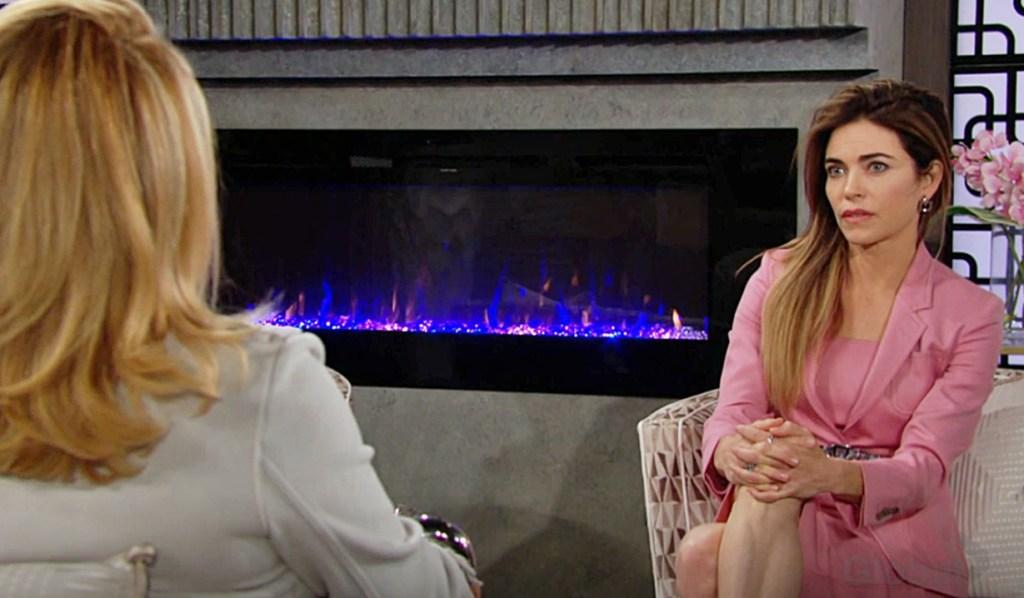 Nikki, Victoria discuss Victor Y&R