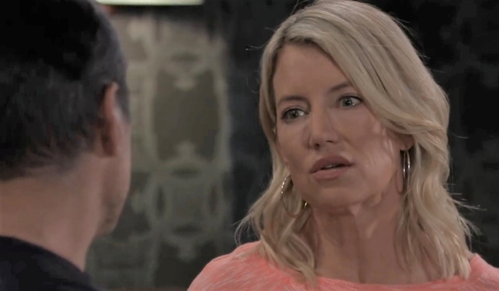 Nina asks Sonny if he wants his old self back at Tan-O General Hospital