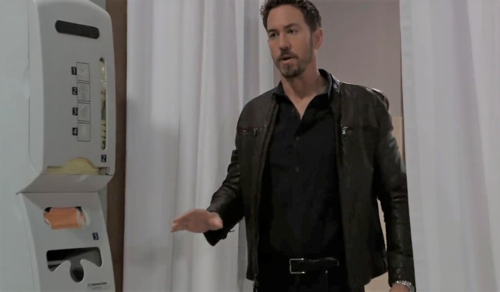 Peter arrives at General Hospital