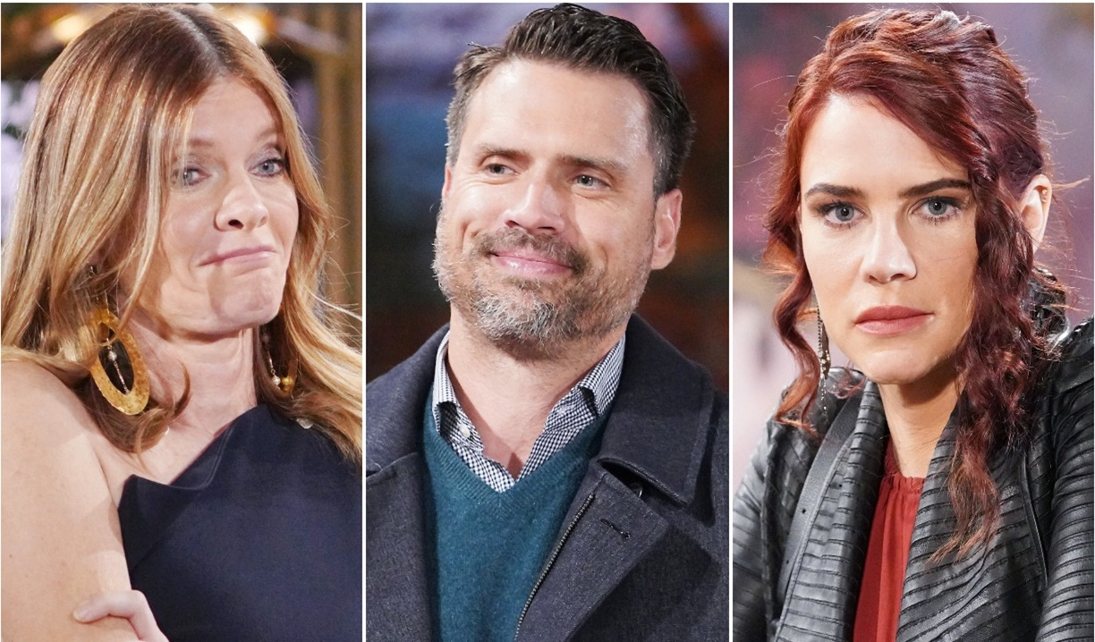 Phyllis, Nick, Sally collage Y&R