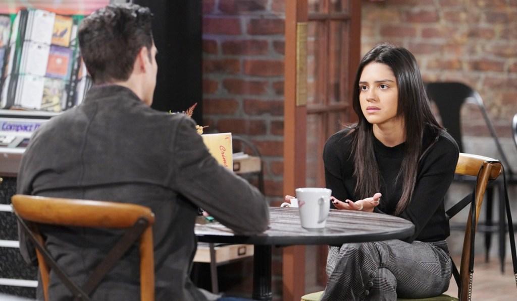 Rey, Lola talk marriage Y&R