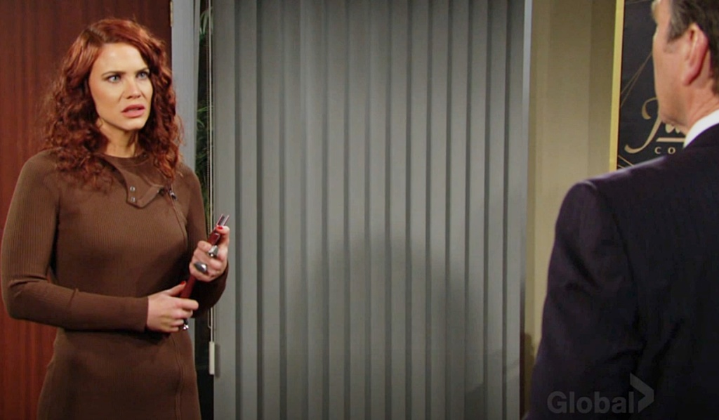 Sally questioned by Jack Y&R