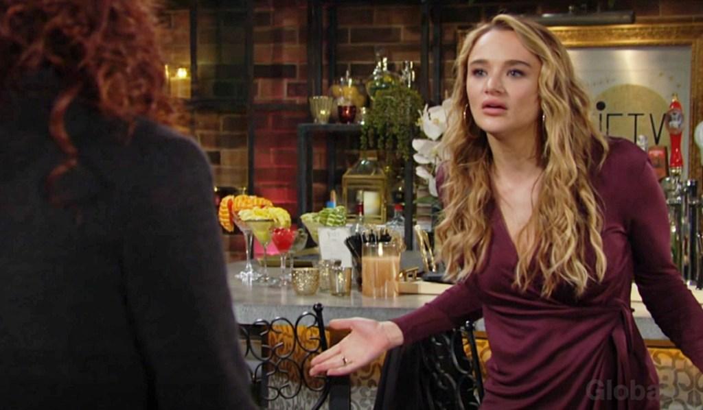 Sally confronts Summer Y&R