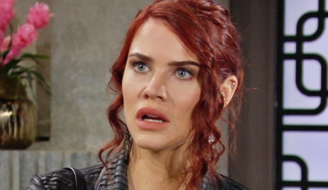 Sally after rant at Phyllis Y&R