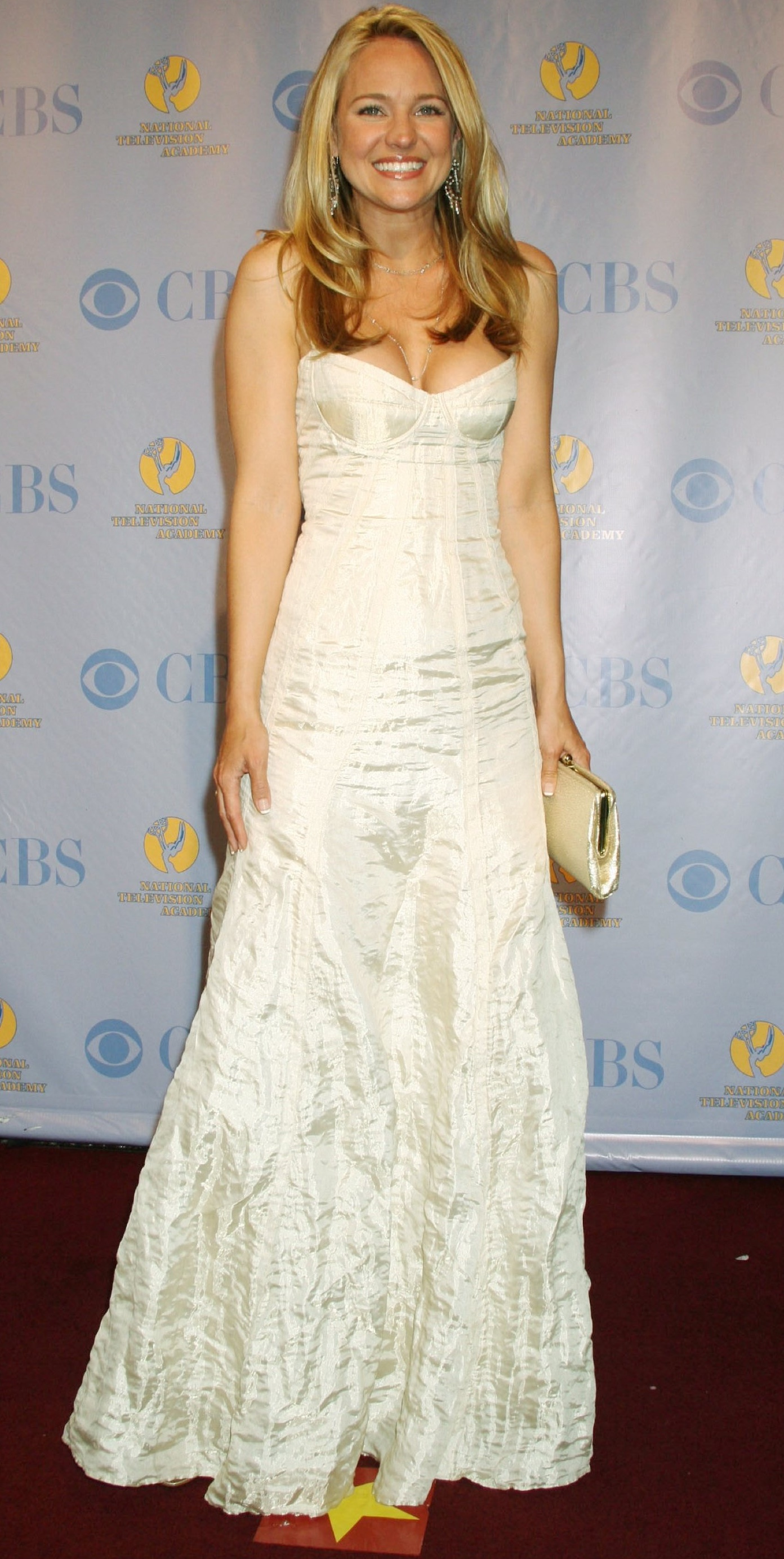 Sharon Case 32nd Daytime Emmy Award-Pressroom Radio City, New York 5/20/05
